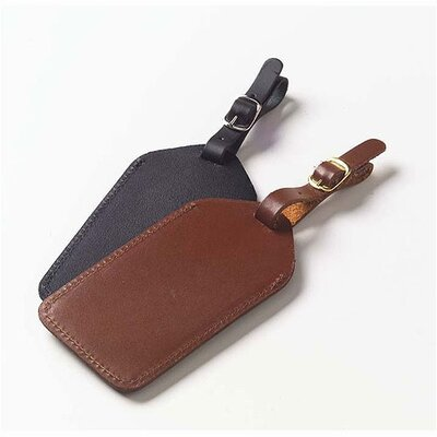 Clava Leather Bridle Leather Luggage Tag