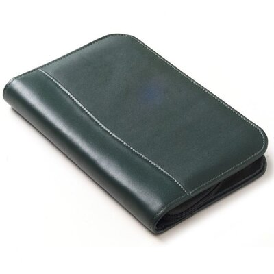 Clava Leather Colored Leather  Zip Junior Portfolio