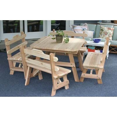 Creekvine Designs Cedar Union Dining Set