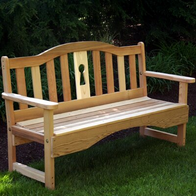Creekvine Designs Cedar Benches Garden Bench