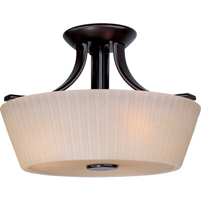 Taniya Nayak Back to Basics 3 Light Semi Flush Mount