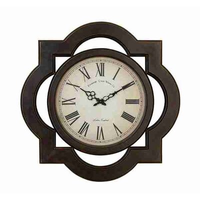 UMA Enterprises Toscana Scalloped Wood Wall Clock