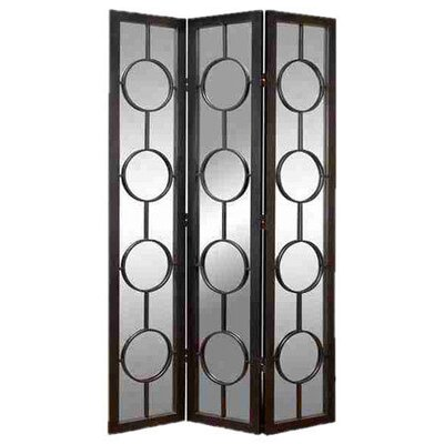 "<strong>UMA Enterprises</strong> 83"" x 18.5"" Urban Trends Screen 3 Panel Room Divider"