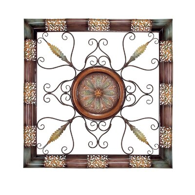 UMA Enterprises Rustic Eclectic Metal Wall Décor