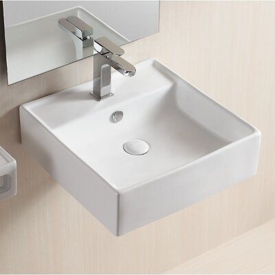 Ceramica II Wall Mounted / Vessel Bathroom Sink - Caracalla CA4032