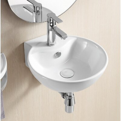 Ceramica II Wall Mounted Bathroom Sink - Caracalla CA4033