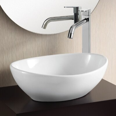 Ceramica II Vessel Bathroom Sink - Caracalla CA4047