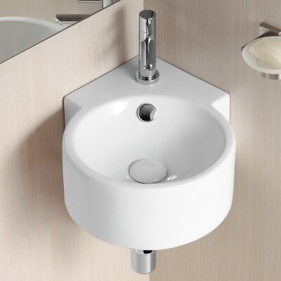 Ceramica II Wall Mounted Bathroom Sink - Caracalla CA4296