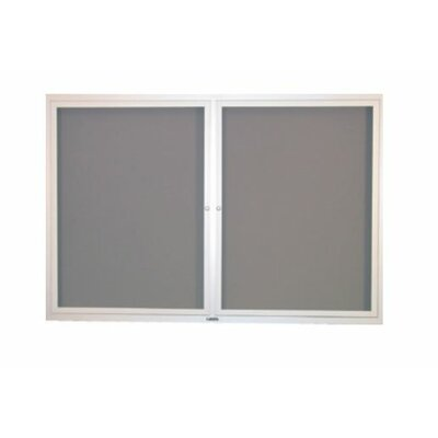 Claridge Products 4' x 8' Contemporary Bulletin Board