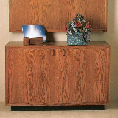 "Claridge Products 72"" Rounded Credenza"
