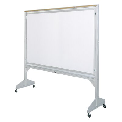 Claridge Products Deluxe Two-Sided 4' x 6' Whiteboard