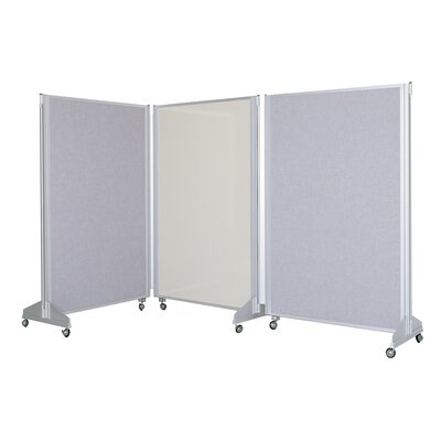 Claridge Products Premiere Portable Panelling System Chalkboard and Bulletin Board