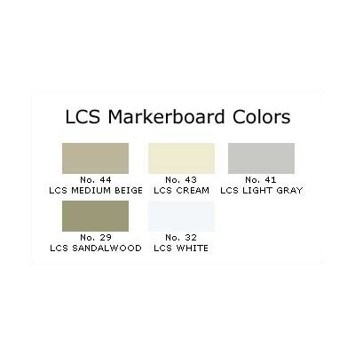 Claridge Products Series 1300 Factory-Built Markerboard 4'H x 6'W