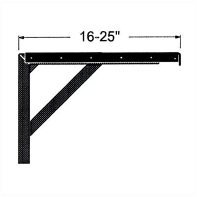 Claridge Products Projection Screen Adjustable Wall Mounting Brackets (pair)