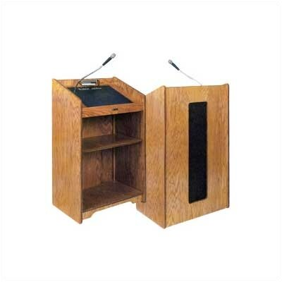 Claridge Products No. 1743 Premiere Amplified Lectern