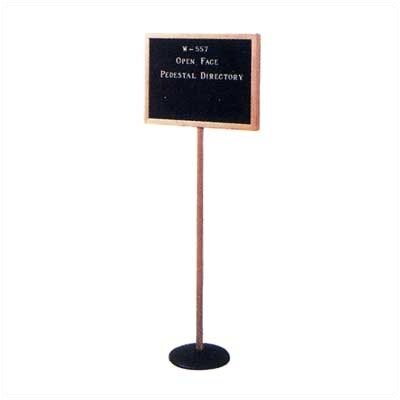 Claridge Products W557 Open Face Pedestal Directory
