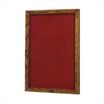 Claridge Products No. 352 Single Door Wood Framed Glass Door Directory