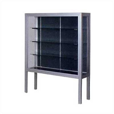 Claridge Products Premiere Freestanding Display Case with Legs