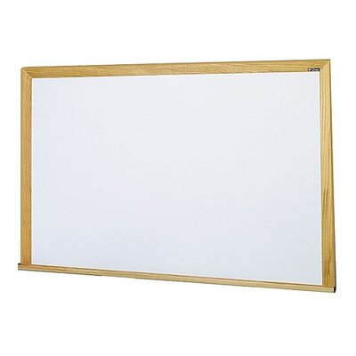 Claridge Products Special Low Gloss LCS Deluxe Wallboard with Wood Trim 4' x 6'
