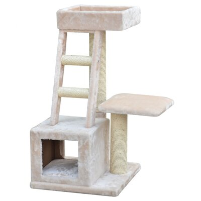 "PetPals 20"" Playhouse Cat Tree"