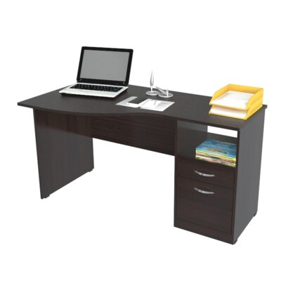 Curved Top Computer Desk