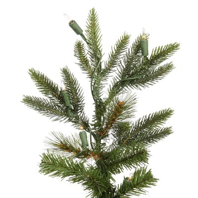 Vickerman Co. Shawnee Fir 7' Green Alpine Artificial Christmas Tree with 350 Clear Lights with Stand