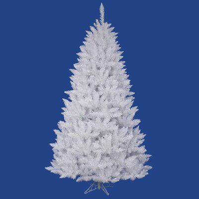 "Vickerman Co. Crystal White Spruce 5' 6"" Artificial Christmas Tree with Stand"