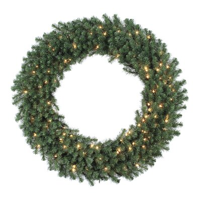 "Vickerman Co. Douglas Fir 48"" Wreath with Clear Lights"