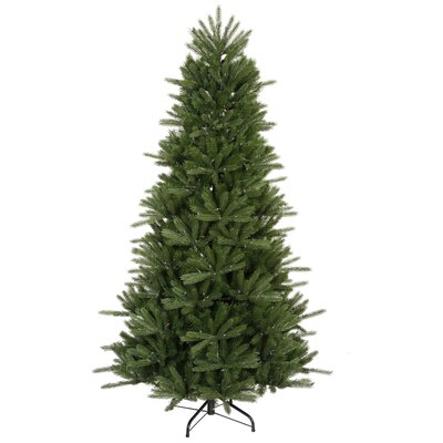 Vickerman Co. Vermont Instant Shape Medium 4.5' Green Artificial Christmas Tree with Stand