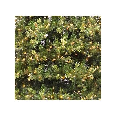 Vickerman Co. Country Pine 7.5' Green Slim Pine Artificial Christmas Tree with 650 Pre-Lit Clear Lights with Stand