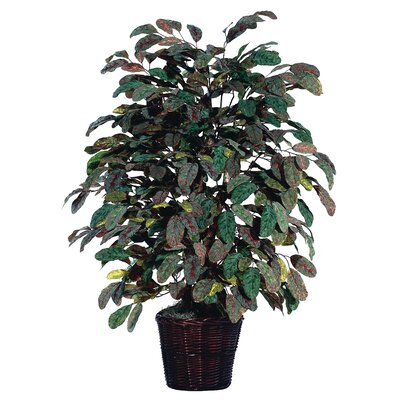 Vickerman Deluxe Artificial Potted Natural Apple Tree in Basket