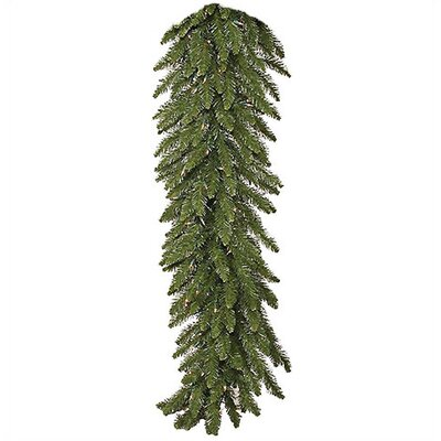 Vickerman Co. 9' Prelit Camdon Fir Garland with Clear Lights