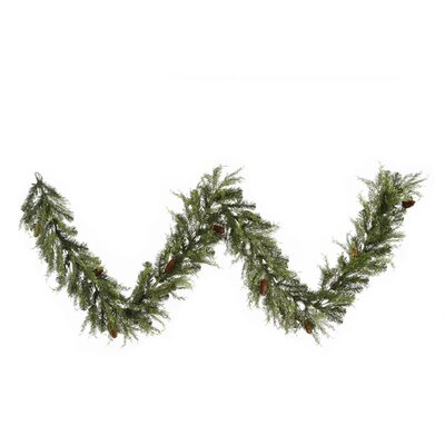 Vickerman Co. Cedar Pine Cone Garland