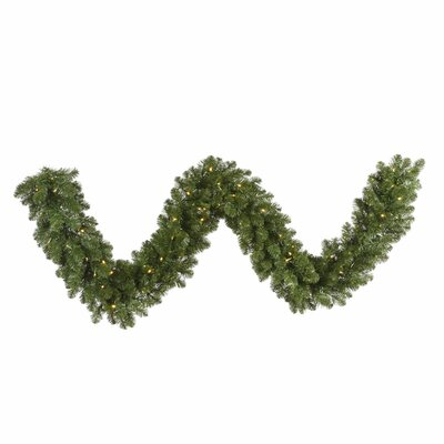 Vickerman Co. Grand Teton Garland with 300 Dura-Lit Lights