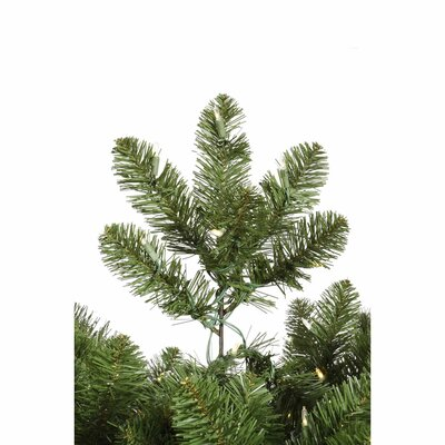 Vickerman Co. Grand Teton 9.5' Medium Green Artificial Christmas Tree with 1150 LED White Lights