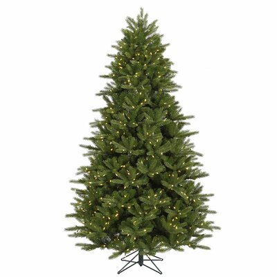 Vickerman Co. Majestic 7' Green Frasier Christmas Tree with 950 LED Lights Clear with Stand