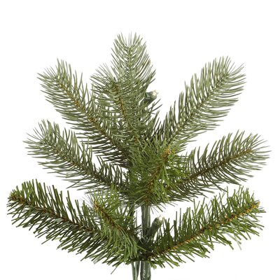 Vickerman Co. Belvedere 7.5' Green Spruce Artificial Christmas Tree with 680 LED White Lights with Stand