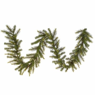 Vickerman Co. Jack Pine Garland with 50 LED Lights