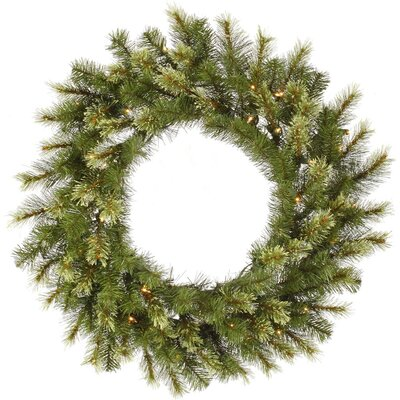 Vickerman Co. Jack Pine Wreath with 100 Dura-Lit Lights