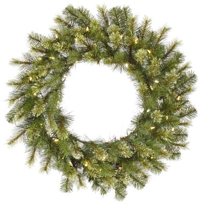 Vickerman Co. Jack Pine Wreath with 100 LED Lights
