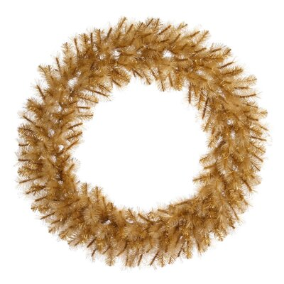 Vickerman Co. Glitter Cashmere Wreath with 522 Tips
