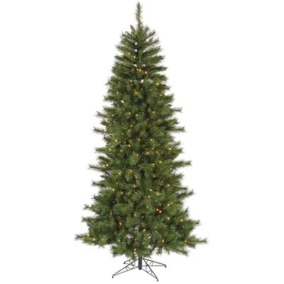 Vickerman 6' Green Newport Mix Pine Artificial Christmas Tree with 250 Multicolored Mini Lights ...