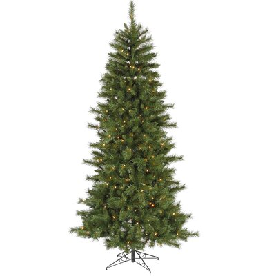 Vickerman 9' Green Newport Mix Pine Artificial Christmas Tree with 650 Clear Mini Lights with ...