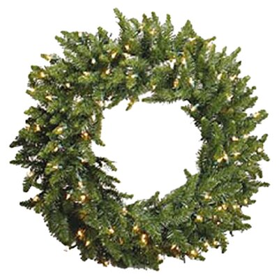 Vickerman Prelit Camdon Wreath with Clear Lights