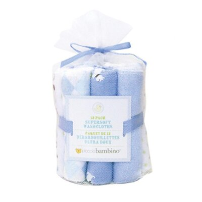 Piccolo Bambino Essential Washcloths (Set of 12)