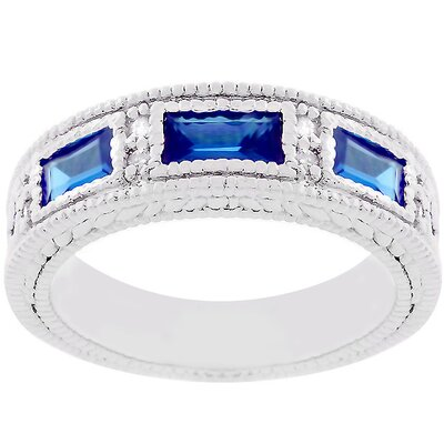 J Goodin Cubic Zirconia Royal Cocktail Ring