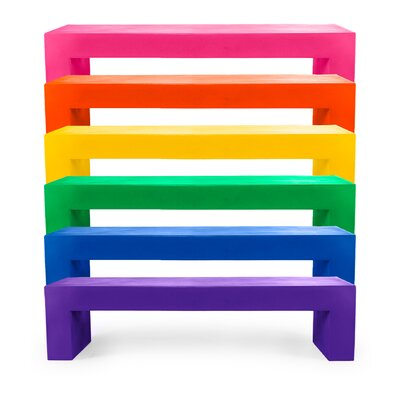 Heller Lella and Massimo Vignelli Polymer Bench Seating Group