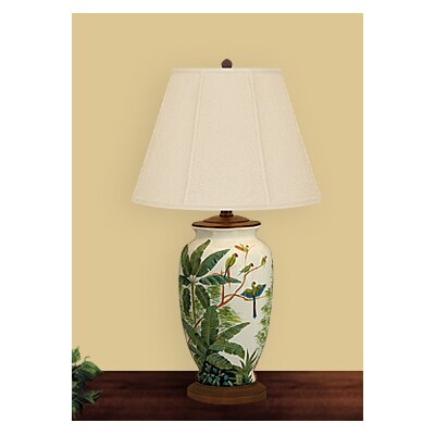 JB Hirsch Home Decor Birds In Paradise Table Lamp