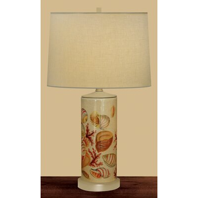 JB Hirsch Home Decor Seaside Column Table Lamp