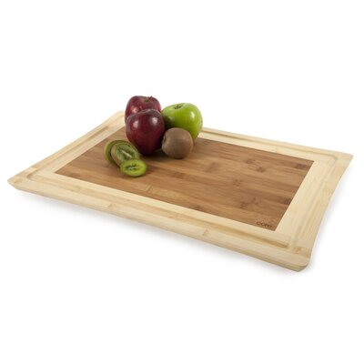 Core Bamboo Sunflower X-Large Cutting Board in Two Tone